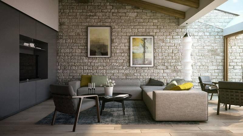 Как укладывать гипсовую плитку на стену