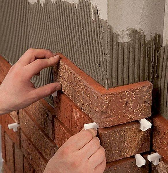 Плитка под кирпич для фасада