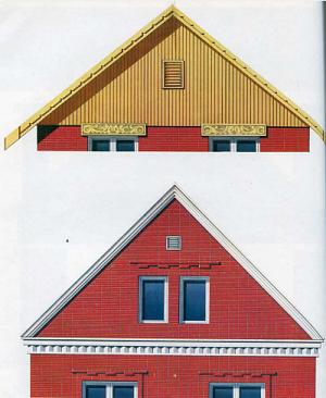 Кирпичный фронтон