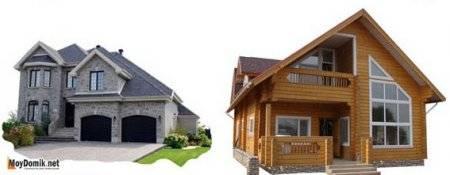 Деревянный дом или кирпичный