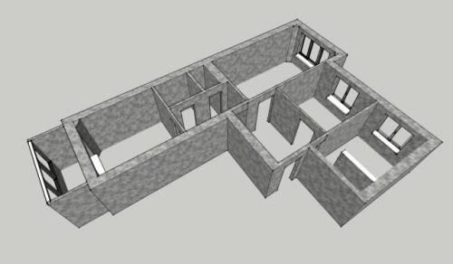 Как узнать какие стены в квартире несущие