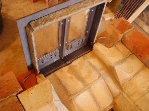 Кирпичная печка для дачи на дровах