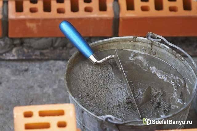 Соотношение глины и песка для кладки печи