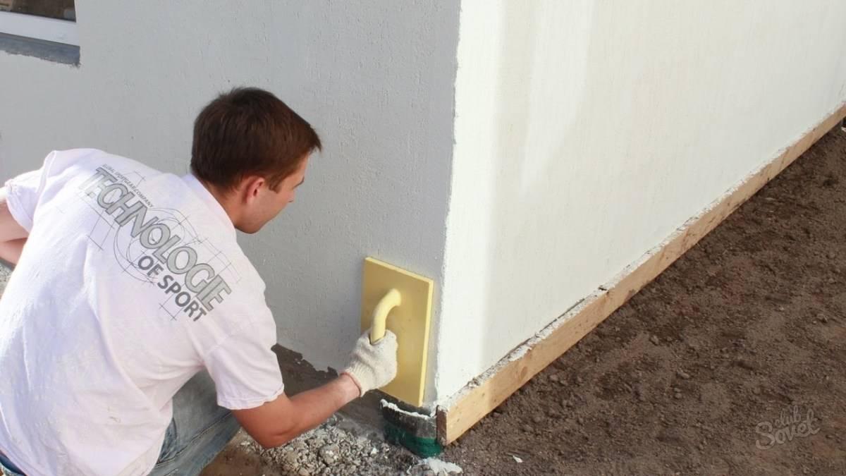 Как оштукатурить дом снаружи своими руками