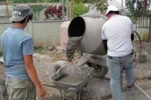 Как приготовить раствор цемента с песком