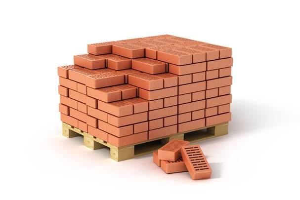 Количество кирпича в 1м3 кладки таблица