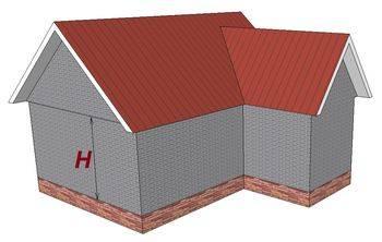 Расчет фундамента для кирпичного дома