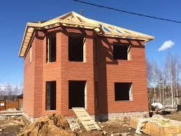 Как построить кирпичный дом