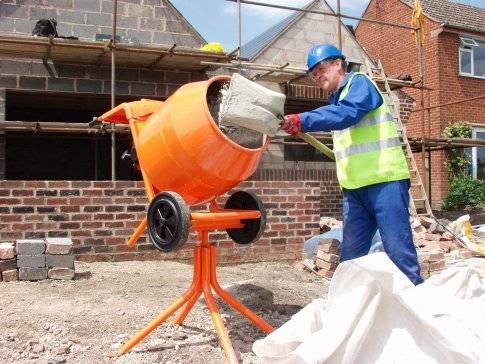 Как делать цементный раствор