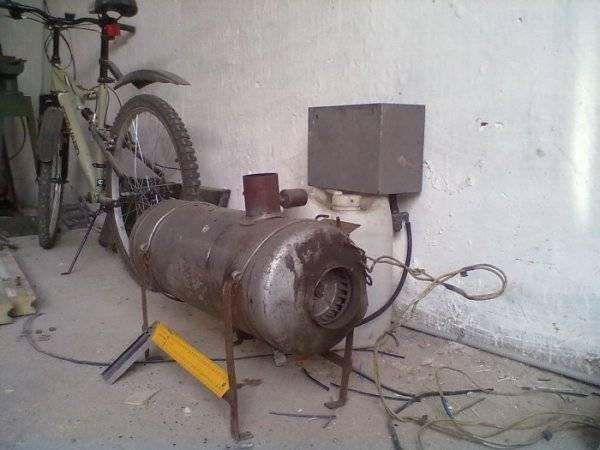 Печь из кирпича для гаража