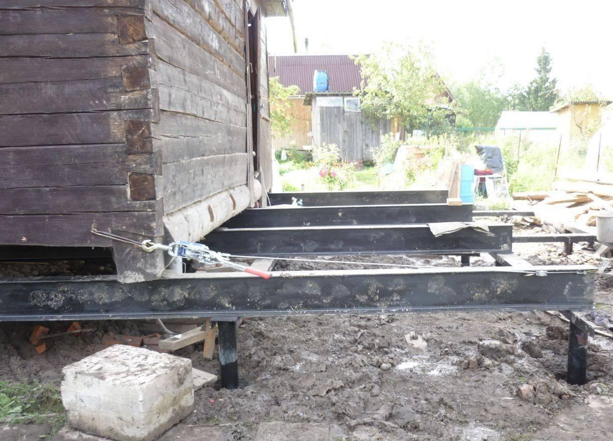 Как укрепить фундамент старого дома своими руками
